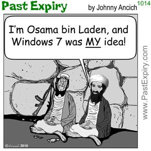 [CARTOON] Windows 7.  images, pictures, advertising, Canada, cartoon, celebrity, spoof, television, terrorist, microsoft