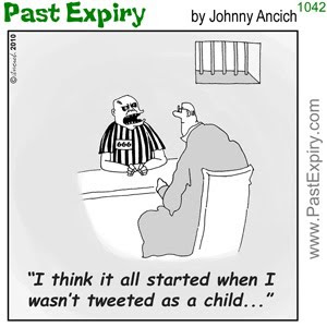 [CARTOON] Twitter Prison.  images, pictures, cartoon, crime, internet, social networking, Twitter