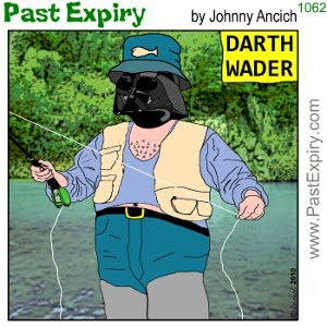 [CARTOON] Darth Vader Vacation. cartoon, DarthVadar, spoof, StarWars, vacation