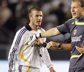 Beckham, Galaxy overmatched in loss