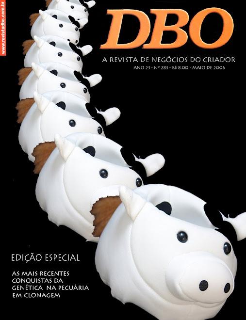 ensaio de capa para revista DBO