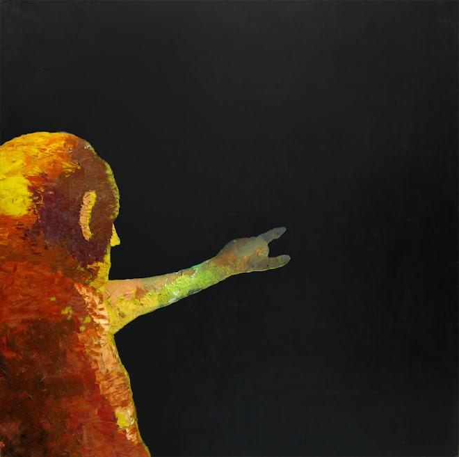Óleo sobre tela - Infinito - 108 x 108 cm