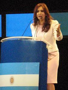 Presidente Argentino:CRISTINA FERNÁNDEZ
