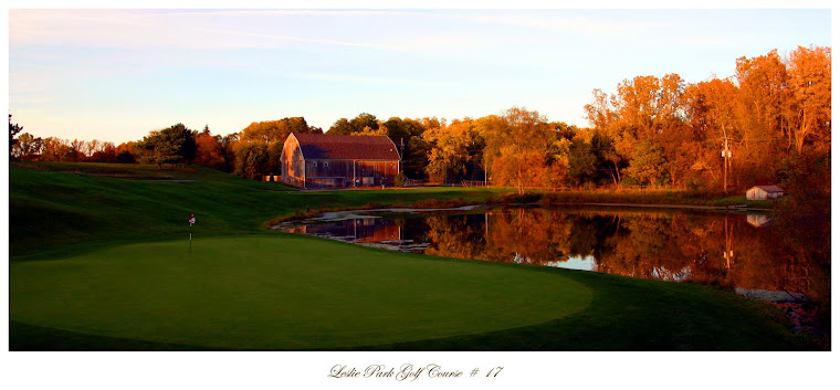A beautiful shot of our historic barn at Leslie Park