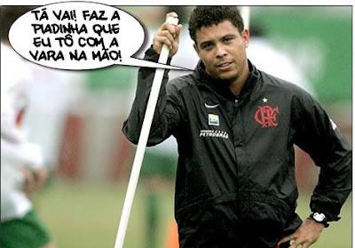 Ronaldo e sua vara