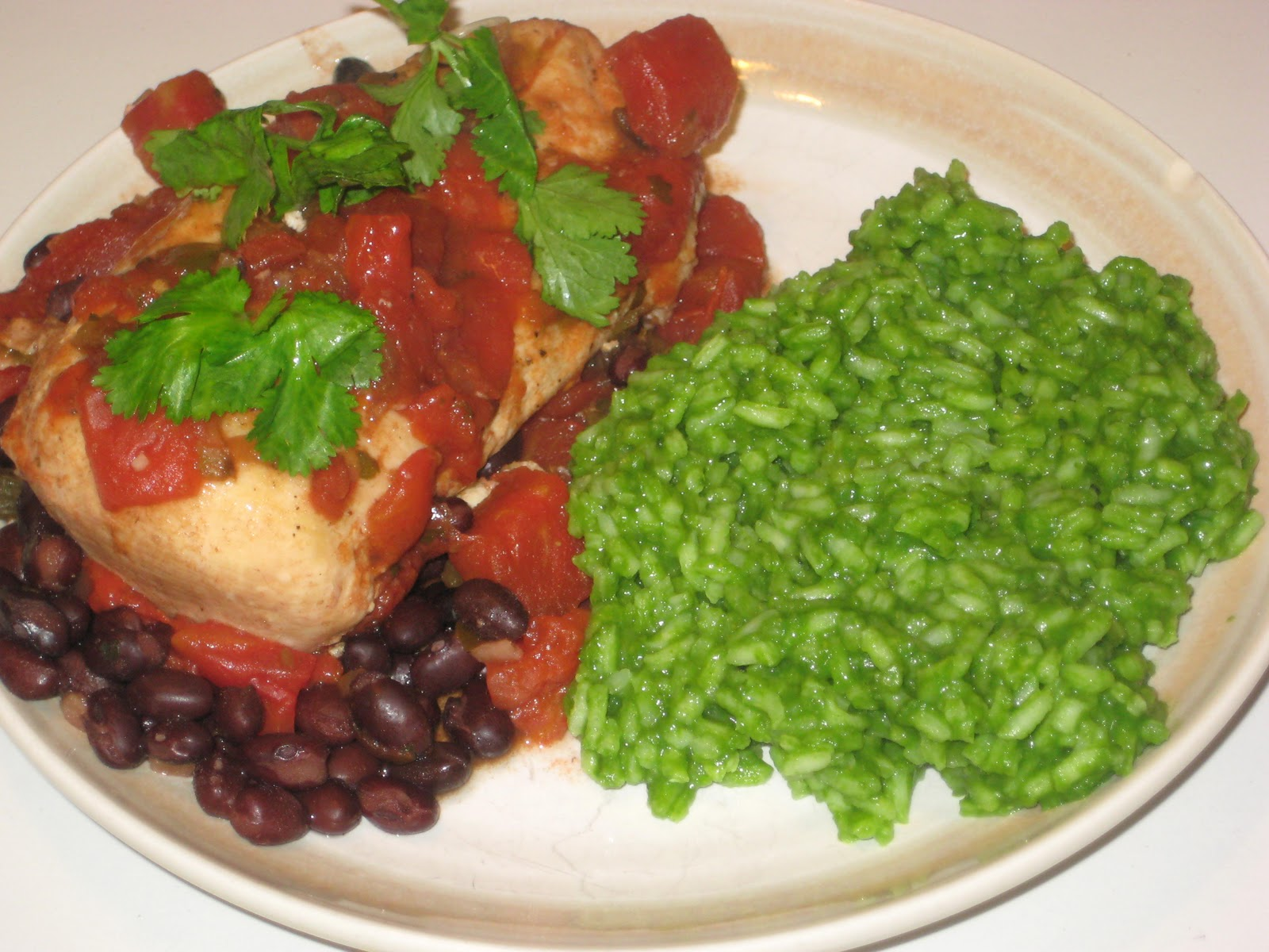 The menu mama mexajita chicken and green rice i combine a rachael ray rice recipe that my mother in law shared with me and an easy crockpot chicken dish from the food network forumfinder Images