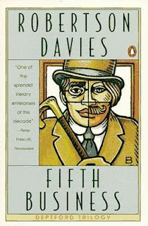 a main theme of guilt in the novel fifth business by robertson davies In fifth business, by robertson davies, guilt was a major theme and was essential throughout the novel davies used the three main characters, dunstan ramsay, boy staunton, and paul dempster to illustrate the different effects of mrs dempster's incident the way one is raised, the key disciplines .