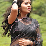 Colors Swathi Hq Wallpapersin Black Saree