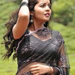 Colors Swathi Hq Wallpapersin Black Saree