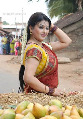 saree actress sona hot saree photos kootanchoru tamil movie new