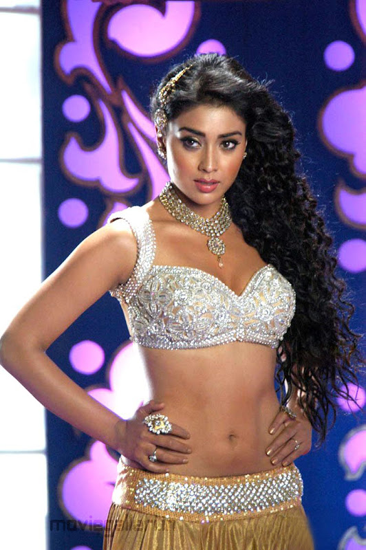 Shriya Saran Hot Pics in Komaram Puli Komaram Puli Shriya Hot Item Song Stills hot images