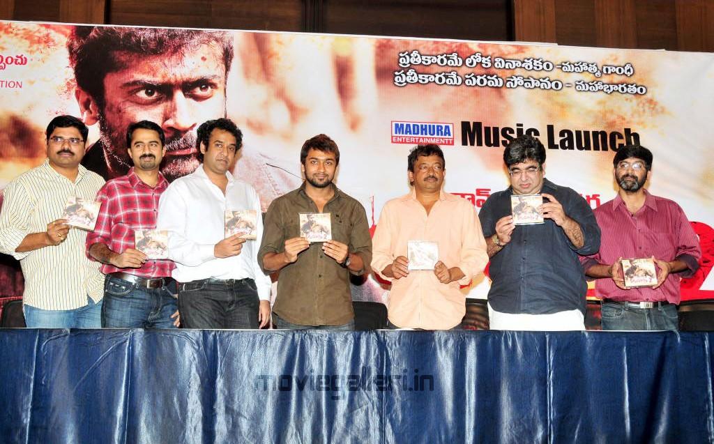 Cine Film Actors Rakta Charitra: Rakta Charitra 2 Songs Release Stills, Rakta Charitra 2