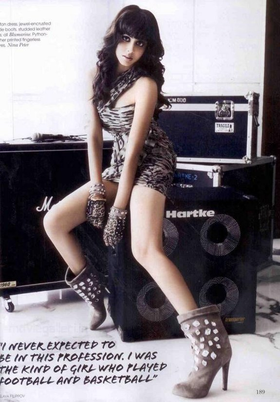 Sexy Genelia Vogue Dec 2010 Stills
