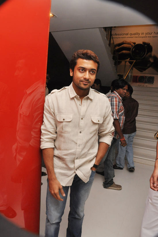 icc world cup 2011 final images_14. Actor Surya @ Siruthai Trailer