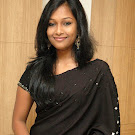Swathi Actress Swathi in Black Spicy Saree Hot Pics