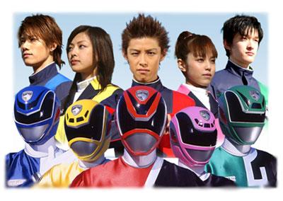 Tokusou Sentai Dekaranger DEKARANGER+FORMA%C3%87%C3%83O+I