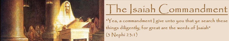The Isaiah Commandment