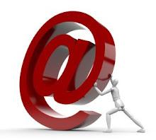 envia um email