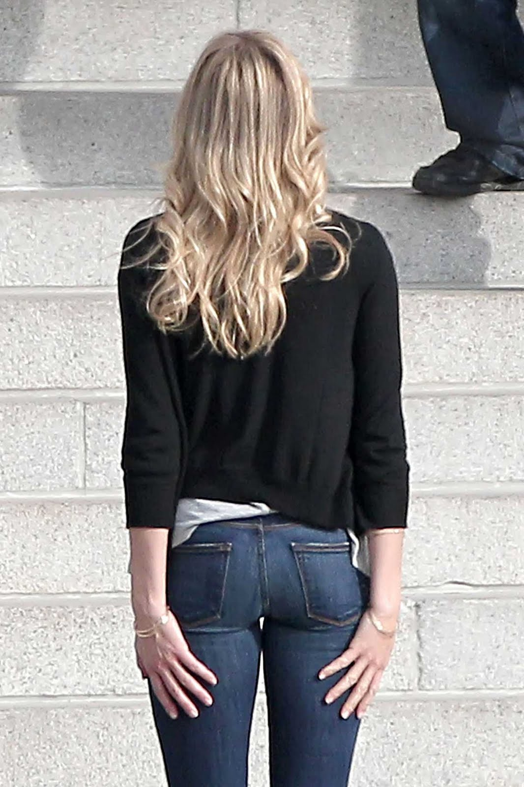 Celebrity bums in jeans