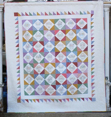 Aunt Bea's Parlor by Black Cat Creations for Embroidery Quilt
