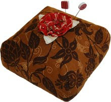 Swiss Chocolate Pincushion