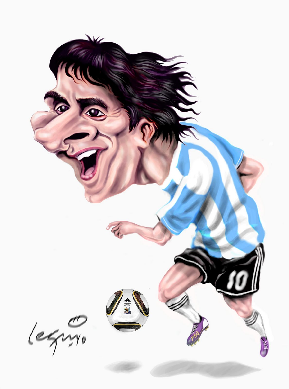 Caricaturas de 5 jugadores de futbol - Taringa!