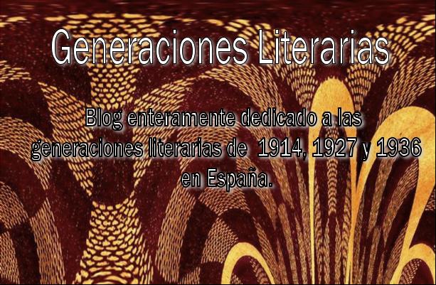 Generaciones Literarias