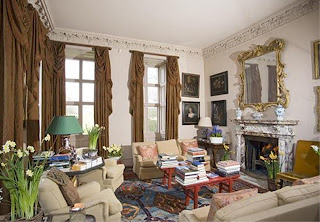 North view of the ground floor Drawing Room at Ashdown House copyrighted by Nicola Cornick