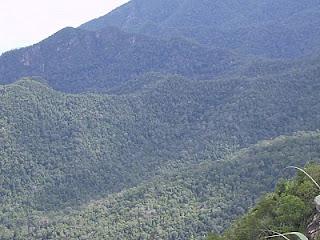 Gunung di Pulau Langkawi