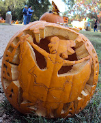 Below are a few of my favorite pumpkins. This one would have one first prize .
