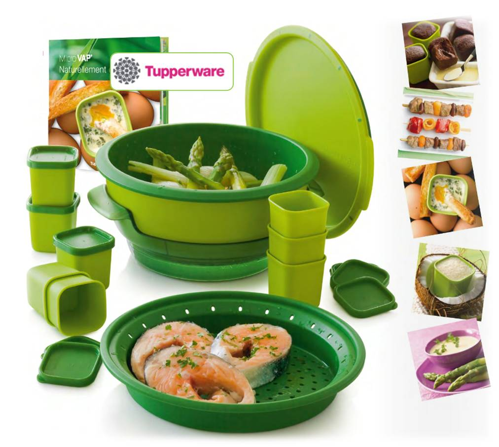 Innovation produits de grande consommation menage for Micro vap tupperware
