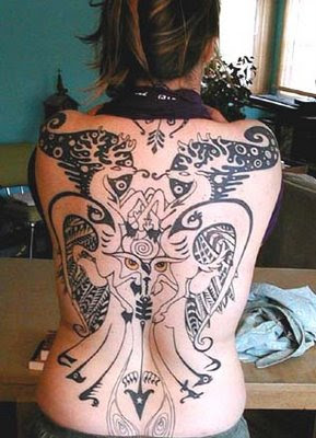Cool tattoo designs make girls more sexy
