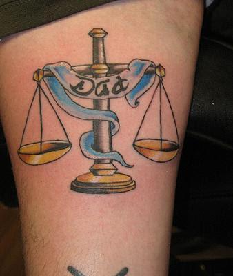 libra tattoos best design