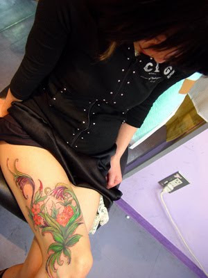 Asian Flower Tattoo trends 2010