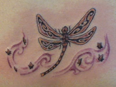 dragonfly tattoo, Tribal Tattoo