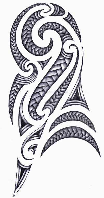 maori tribal tattoo art