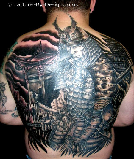 Consider the design tattoo samurai, yes, Japanese samurai tattoo will make