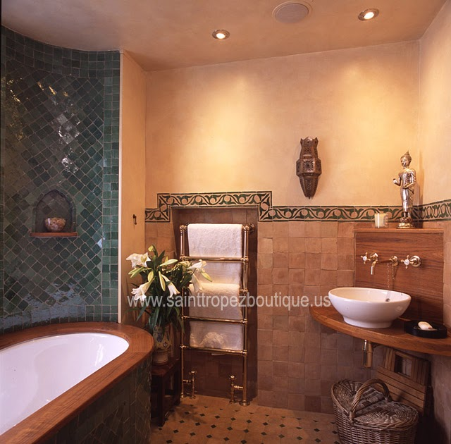 Moroccan decorating ideas spice up your bathroom moroccan for Bathrooms in spanish