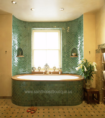 Spice up your Bathroom Moroccan Style | Moroccan decorating ideas
