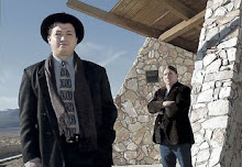 Joaquin with Public Defender, Rich McCauley at the Pyramid Lake Indian Reservation (2000)