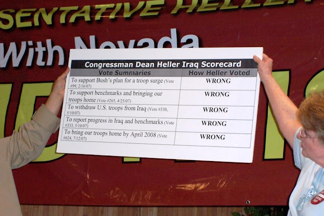 Dean Heller's Record on Iraq