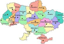 Ukraine Regions