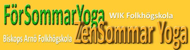 Zensommar Yoga