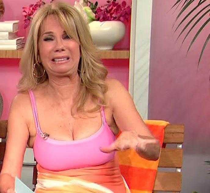 Lee gifford nipples kathie