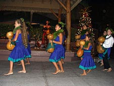 Free Christmas entertainment at Waikoloa Beach Resort Hawaii Big Island