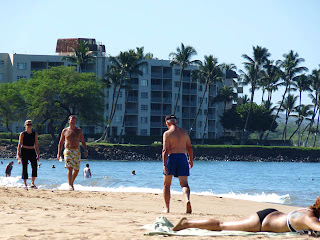 Charlie Young and Kamaole Beach I perfect for beach walks