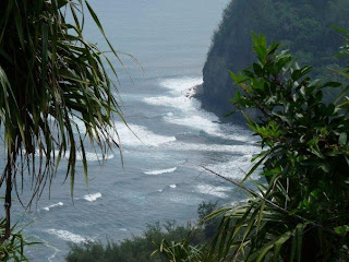 First glimpse of Pololu Valley from Loukout