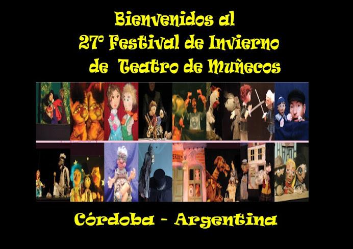 27º FESTIVAL DE INVIERNO DE MUÑECOS UNIMA CORDOBA