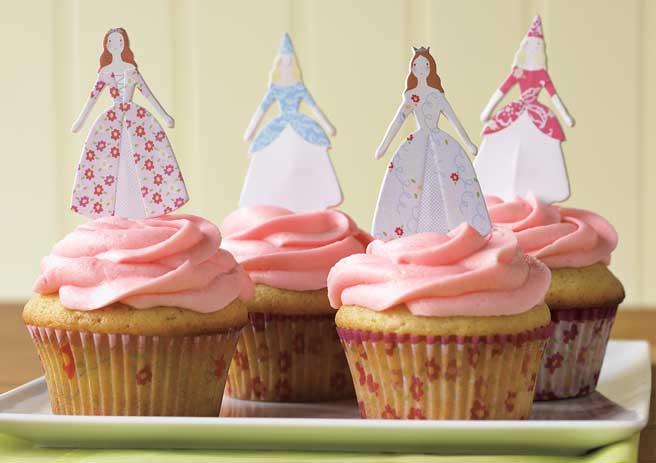 Cupcake Decorating Ideas Princess : SurLaLune Fairy Tales Blog: Princess Cupcake Decorating Kit