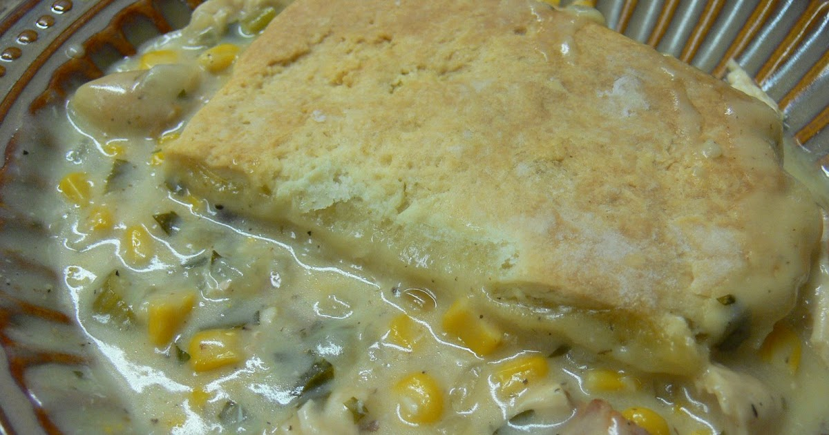 The Mediocre Cook: 105. Chicken Pot Pie with Corn and Bacon